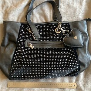Betsey Johnson Black Bag